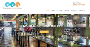 Continental Creative Services debuts new website and logo