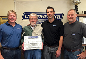 Continental names it's 2015 Distributors of the Year
