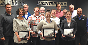 Continental hosts Max Sacks sales training