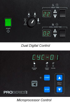 dual digital control on proseries dryers