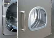 E-Series commercial dryer ergonomic design
