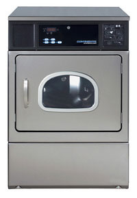 E-series commercial dryer with oversized door