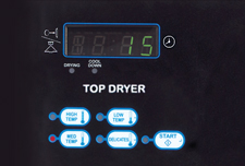 commercial dryers advanced controls