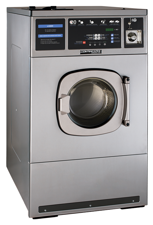 60 Pound Washer ~ Card coin operated washers continental girbau