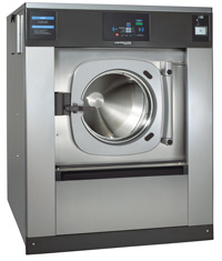 90 pound capacity coin operated washer
