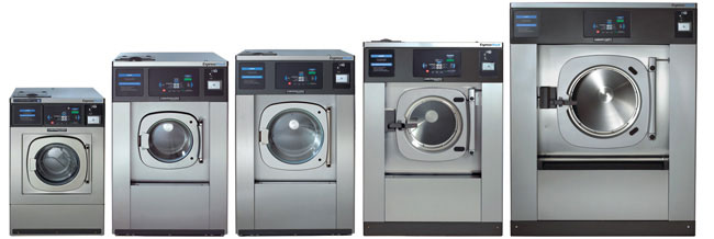 commercial coin-operated washers - E-Series
