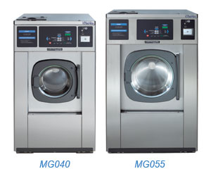 MG-Series card- & coin-operated washers