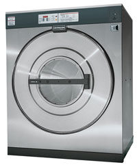 125 capacity coin operated washer