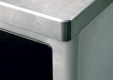 rounded corners on washer