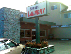 bubbles coin laundry